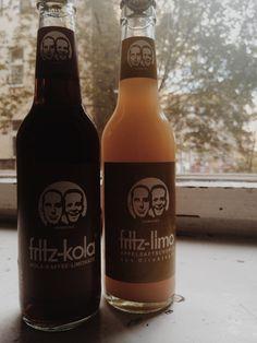 Fritz Kola.Kaffee Kola&Apfel direkt Fritz Kola, Coke, Beer Bottle, Tea, Drinks, Lemonade, Apple, Drinking, Coca Cola