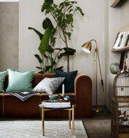 Un salon simple et contemporain  - Marie Claire Maison