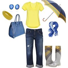 Rainy day sunshine., created by tmsimp3.polyvore.com