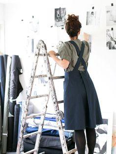 Sewing Patterns Free, Free Sewing, Dress Patterns, Easy Dress Pattern, Apron Patterns, Japanese Sewing Patterns, Clothes Patterns, Hand Sewing, Sewing Hacks