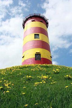 Pilsumer Leuchtturm in Krummhörn