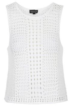 Geometric Knitted Vest