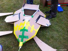 Cardboard plane