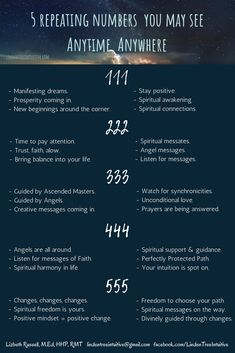 5 Numbers you should pay attention to. New Coming, Spiritual Connection, Staying Positive, Spiritual Awakening, Pay Attention, Simple Way, 5 Ways, Intuition, Something To Do