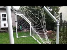 soccer goal made out of pvc pipe