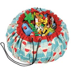 A Play & Go Badminton Playmat - the perfect toy storage and playmat in one. The red and blue Badminton Playmat Bag is a simple and effective solution to toy storage - a two-in-one storage bag that doubles as a play mat. Badminton, Toy Storage Bags, Lego Storage, Storage Ideas, Go Bags, Kids Bags, Kids Toy Store, Gifts Love, Pranks