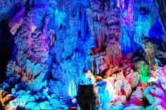Reed Flute Cave, Guilin, Guangxi, China