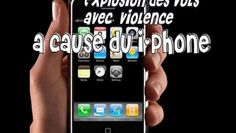 ▶ Les vols de i-Phone explosent - Vidéo Dailymotion