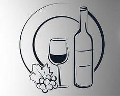 Wine A Bit Youll Feel Better Wall Art Kitchen Glass VINYL STICKER - Vinyl stickers for glass bottles
