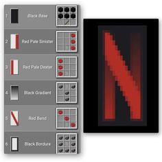 Netflix banner - Explore the best and the special ideas about Minecraft Buildings Minecraft Banner Patterns, Cool Minecraft Banners, Easy Minecraft Houses, Minecraft House Tutorials, Amazing Minecraft, Minecraft Tutorial, Minecraft Creations, Minecraft Designs, Minecraft Crafts