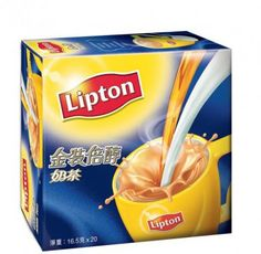 Lipton Gold Milk Tea  Take a break and relax. Just add water and enjoy the perfect mix of tea, milk and sugar in a cup. Lipton Milk Tea is perfect for that moment of enjoyment. Such moments bring a unique tea indulgence that leads to a good mood.