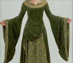 Eowyn LOTR Green Maiden Fantasy Medieval Replica door MattiOnline