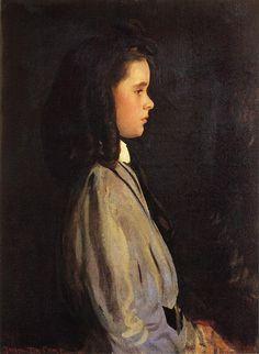 Joseph Rodefer de Camp (1858-1923)  Pauline  Oil on canvas  1907