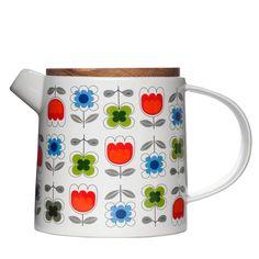 sagaform blossom teapot