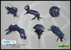 Concept: GloboTech Surveillance Drone image - Twisted Insurrection Mod for C: Tiberian Sun