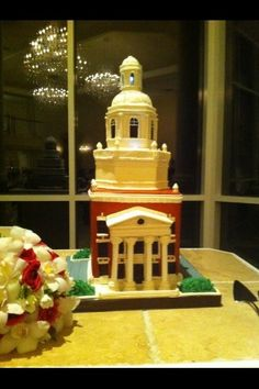 If this isn't at my wedding someday, I'm not even going to bother having one. Baylor cake.
