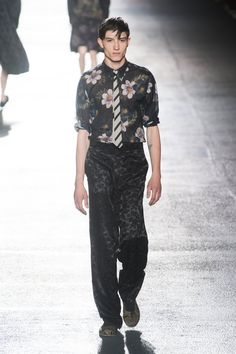 Dries Van Noten MEN | Paris | Verão 2014 RTW