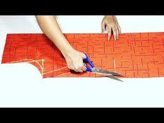 kurti collar neck cutting Simple & Easy Method - Cutting & Stitching tutorial - YouTube