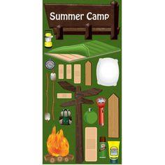 Reminisce - Summer Camp Stickers : Scrappin Sports Stuff