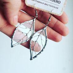 Cuelga los pendientes joyas de cristal plata árbol hoja