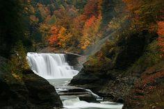 Lower Falls of Genesee, New York