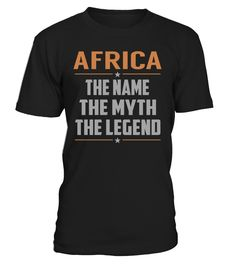 AFRICA - The Name - The Myth - The Legend #Africa