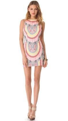 Mara Hoffman Open Back Mini Dress