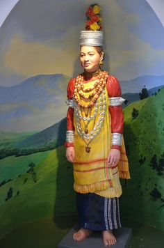 Khasi Costume at Shillong Museum