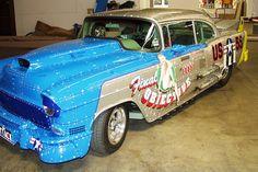 Chevrolet Bel Air Hot Rod, 1955 3000bhp