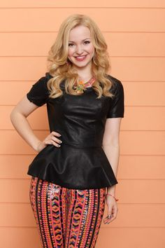 Dove Cameron as Liv/Maddie Aka Liv From New Liv and Maddie Disney Channel's Tv Show.