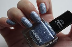 "696 ""highway to heaven"", a beautiful sand style nail polish from ANNY! ---> More on http://lizula.blogspot.de"