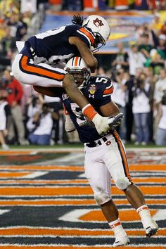 Dyer in Tostitos BCS National Championship Game - Oregon v Auburn Auburn football national title game.Game (disambiguation) A game is a recreational activity with a set of rules. Game or games may also refer to: Auburn Football, Auburn Tigers, Sport Football, Football Season, College Football, Football Rules, Championship Game, National Championship, Oregon