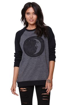 Awesome, Kendall and Kylie long sleeved shirt. With star and moon on front.