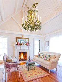 Between Naps on the Porch | Tour Kirstie Alley's Maine Home on Islesboro Island | http://betweennapsontheporch.net