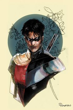 Robin1/Nightwing by Peter V Nguyen #DickGrayson