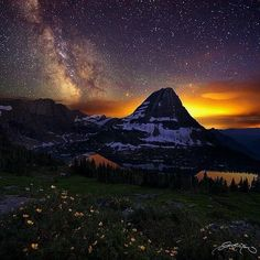 #Mountain #Sunset placestovisit #placestogo #dreamvacation#vacationgoals #exoticplaces#beautifulplaces #amazingplaces