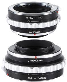 K&F Concept PK/DA-FX adaptor montura de la Pentax K/M/A/FA/DA la Fuji X-Mount KF06.311 Fujifilm, Concept, Products, Gadget