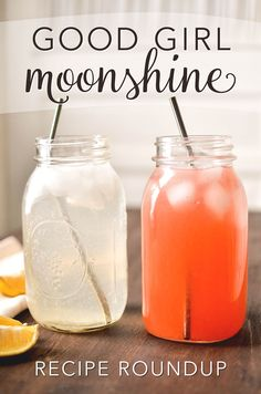 Good Girl Moonshine Recipe Roundup by MamaShire