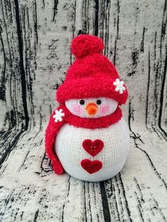 Funny Snowman Craft Ideas For Your Holiday Activity 39 Sock Snowman Craft, Sock Crafts, Snowman Crafts, Snowman Hat, Snowman Wreath, Christmas Crafts To Make, Diy Christmas Ornaments, Christmas Snowman, Holiday Crafts