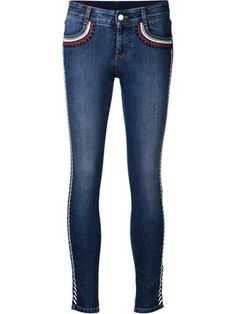 Compre Stella McCartney Calça jeans skinny.