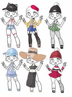 Outfit Adopt Set[Open] 5/6 by yuki-white