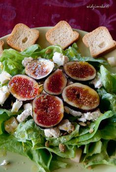 Widzimrka: Figa c.d. / Fig and feta salad