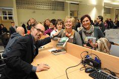 Readers at the book launch of Jeffery Deaver's SARÒ LA TUA OMBRA (XO) - Asti, 15th November 2012