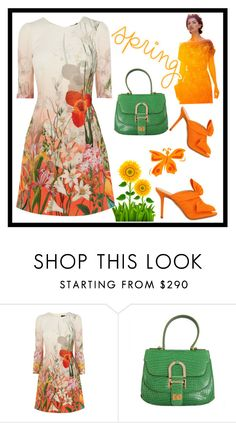 """""""Untitled #379"""" by jovana-p-com ❤ liked on Polyvore featuring Oscar de la Renta and Charlotte Olympia"""