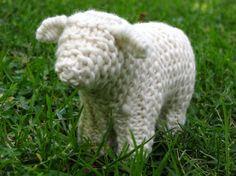 Waldorf Toy Sheep Knitting Pattern PDF Digital by mamma4earth