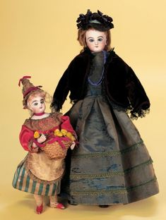 Antique Dolls and Toys of LEGO - Session 1: 87 French Bisque Poupee by Jumeau in Antique Costume