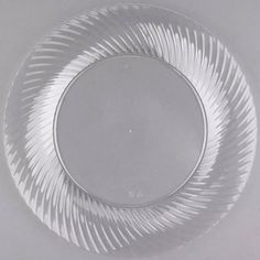 clear plastic plates  sc 1 st  Pinterest & Plastic 9 Inch White Dinner Plate with Gold Rim/Case of 120 Tags ...