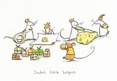 Anita Jeram Santa`s little helpers
