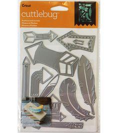 Cricut Cuttlebug Feathers