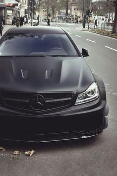 Mercedes-Benz C 63 AMG Black cars= awesome Benz C, Mercedes Benz Amg, Mercedes Auto, Sexy Cars, Hot Cars, C63 Amg Black Series, Dream Cars, Dream Big, Mercedes Black